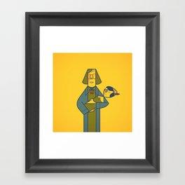 Twinocchio Framed Art Print