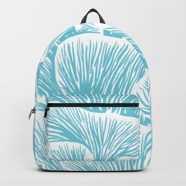 Mushroom Bouquet - Light Blue Backpack
