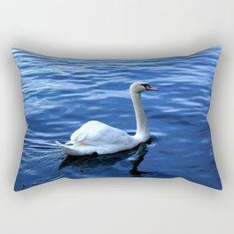 Graceful Swan Rectangular Pillow