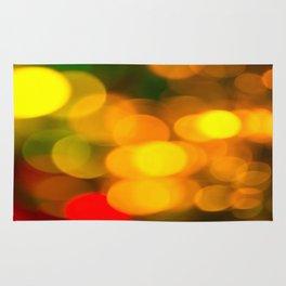 Colorful Bokeh Beautiful light #decor #society6 Rug