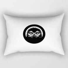 meh.ro logo Rectangular Pillow