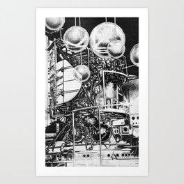 L A B  Art Print