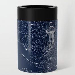 starry jellyfish Can Cooler