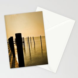 The Sunlit Dock Stationery Cards