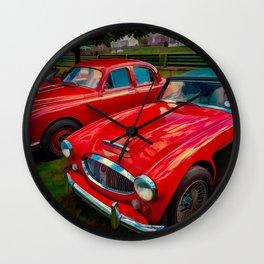 Austin Healey British Sports Car Wall Clock