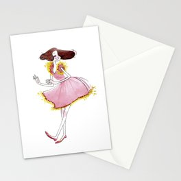 Pinky Stationery Cards