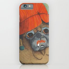 Joan the Pug iPhone Case
