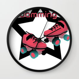I'd rather be jamming Wall Clock