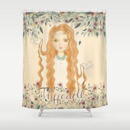 Queen Jodha Shower Curtain