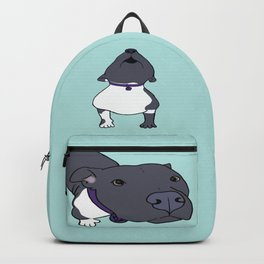 Faith The Resilient Pit Bull Backpack