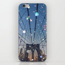 New York City Lights iPhone Skin
