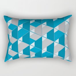 3D Lovely GEO Rectangular Pillow
