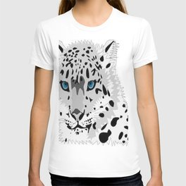 Blue eye cat T-shirt