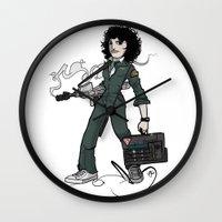 ripley Wall Clocks featuring Ripley  by shugmonkey