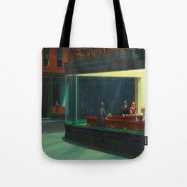 Edward Hopper's Nighthawks Tote Bag
