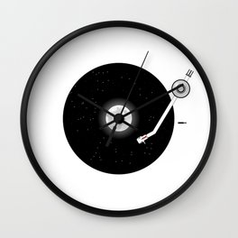 The Music of the Moon and the Stars Wall Clock
