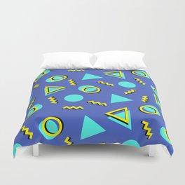 Memphis pattern 63 Duvet Cover