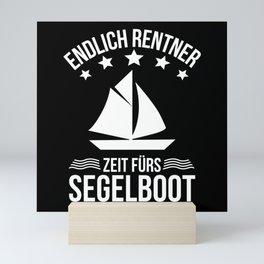 Sailing Ship Sailing Boat Sailing Yacht Sailing Mini Art Print