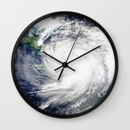Gulf Coast Hurricane Wall Clock