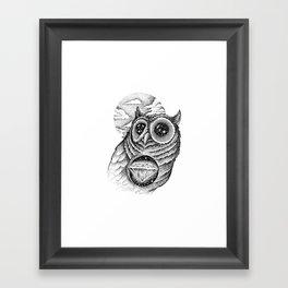 GALAXY EYES Framed Art Print