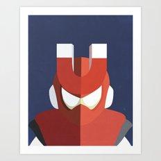 Magnet Man Boss Art Print