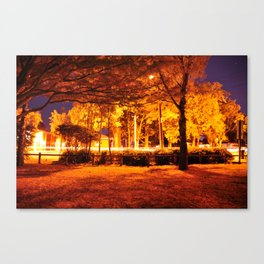 exposures and cars  Canvas Print