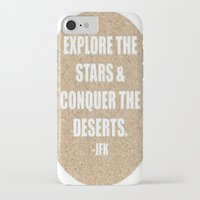 jfk iPhone & iPod Cases featuring JFK by American Sins