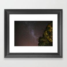 One night Framed Art Print