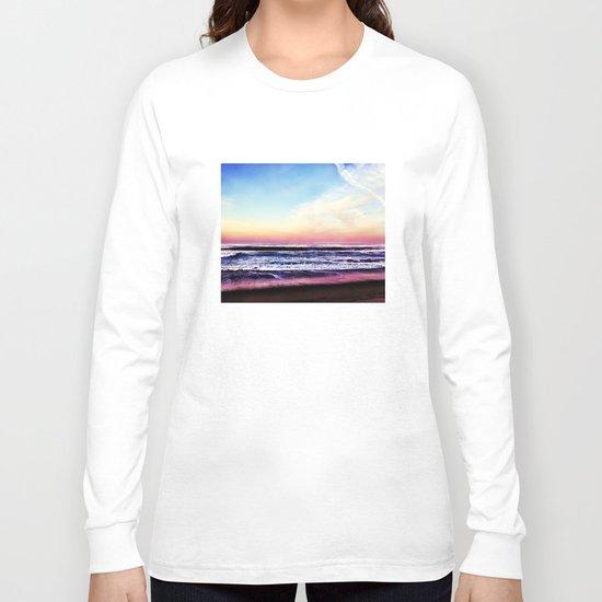 Unicorn Beach Long Sleeve T-shirt