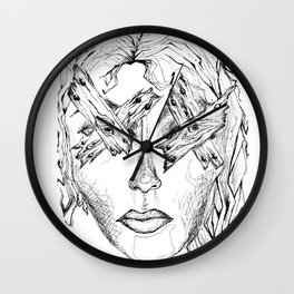 They Say Eyes Are Windows To Our Soul Wall Clock