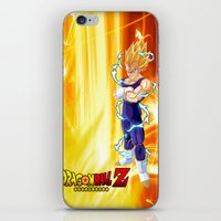 dragonball z iPhone & iPod Skins featuring Vegeta Dragonball Z best idea by customgift