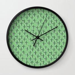 Green++ Abstract Wall Clock