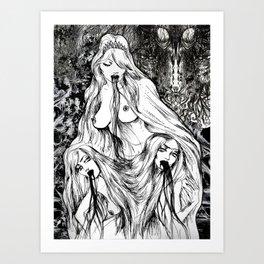 Holy Triad Art Print