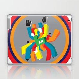hands up guy Laptop & iPad Skin