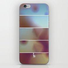 Overexposure (Five Panels Series) iPhone & iPod Skin