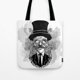 Steampunk Man Tote Bag