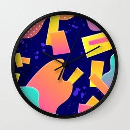 Chaotic geometry Wall Clock