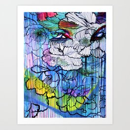 Tattoo     #Society6   #decor  #buyart  #painting #art #artist #drawing #artwork #paint #contemporar Art Print