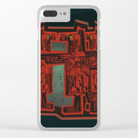 Three's a Crowd Clear iPhone Case