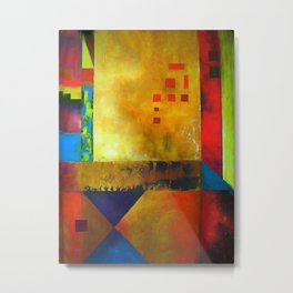 Abstract Composition 45 Metal Print