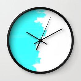 Shiny Turquoise balance Wall Clock