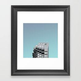 LND CLR X-1 London Colour Architecture Art Framed Art Print