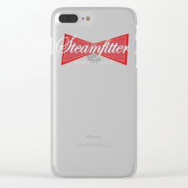 Steamfiter King of Trades Gift Clear iPhone Case