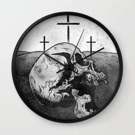 Golgotha Wall Clock