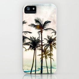No Palm Trees iPhone Case