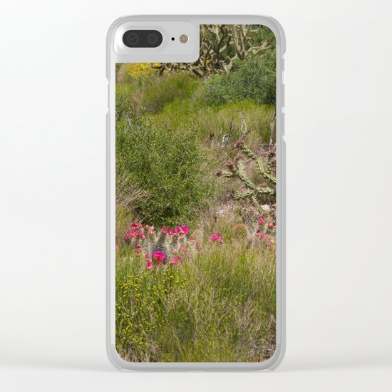 Painted Desert - VI Clear iPhone Case