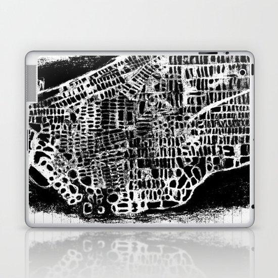 NEW YORK CITY MAP Laptop & iPad Skin
