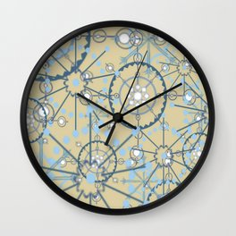 Snow Gears Wall Clock