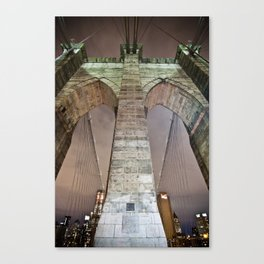 The bridge. Canvas Print