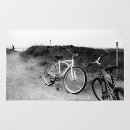 Bike to the Beach  Rug